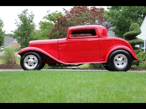 1932 ford 3 window coupe for sale 350 w alum heads 9 for 1932 ford three window coupe for sale