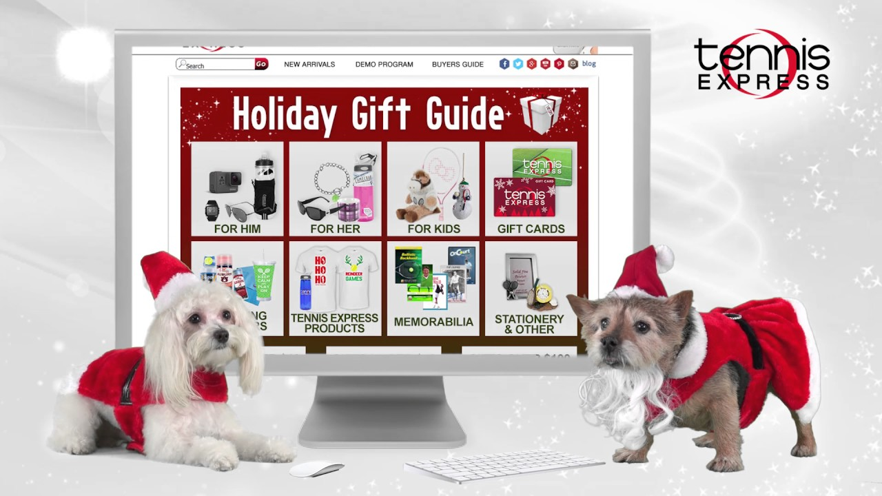 Holiday Gift Guide Bilo And Cooper Tennis Express Youtube