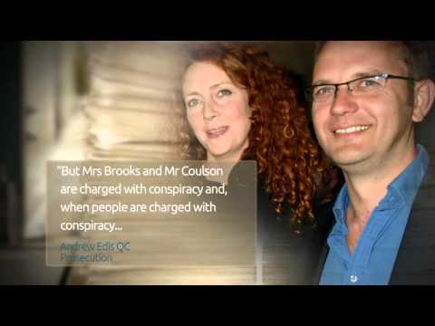Phone hacking trial reveals Rebekah Brooks and Andy Coulson had six-year affair