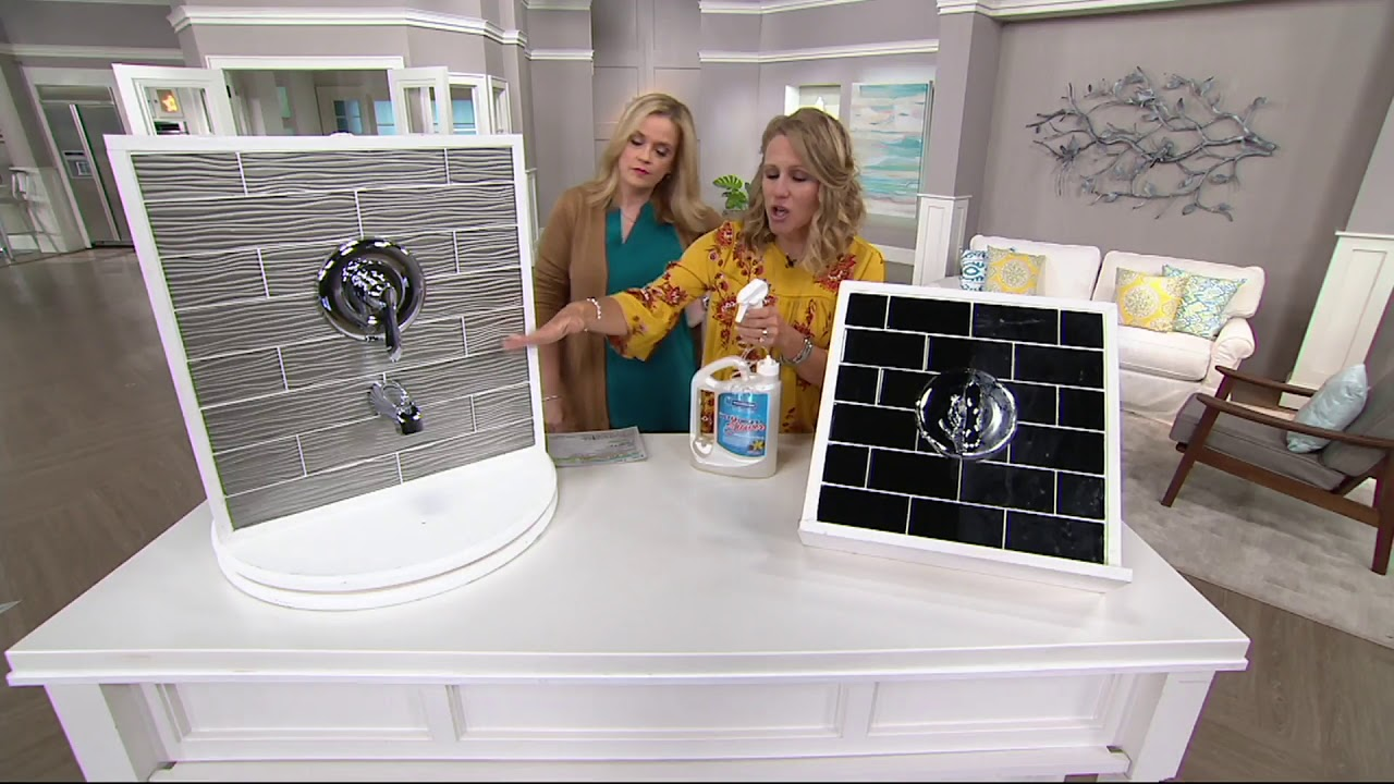 Wet & Forget 64oz Weekly Spray and Rinse Shower Cleaner on QVC