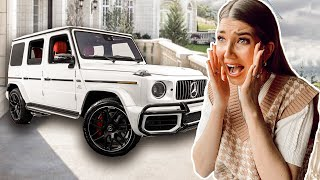 SURPRiSING KASS With HER DREAM CAR! | *Emotional