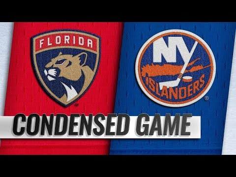 Florida Panthers vs New York Islanders – Oct.24, 2018 | Game Highlights | NHL 18/19 | Обзор матча