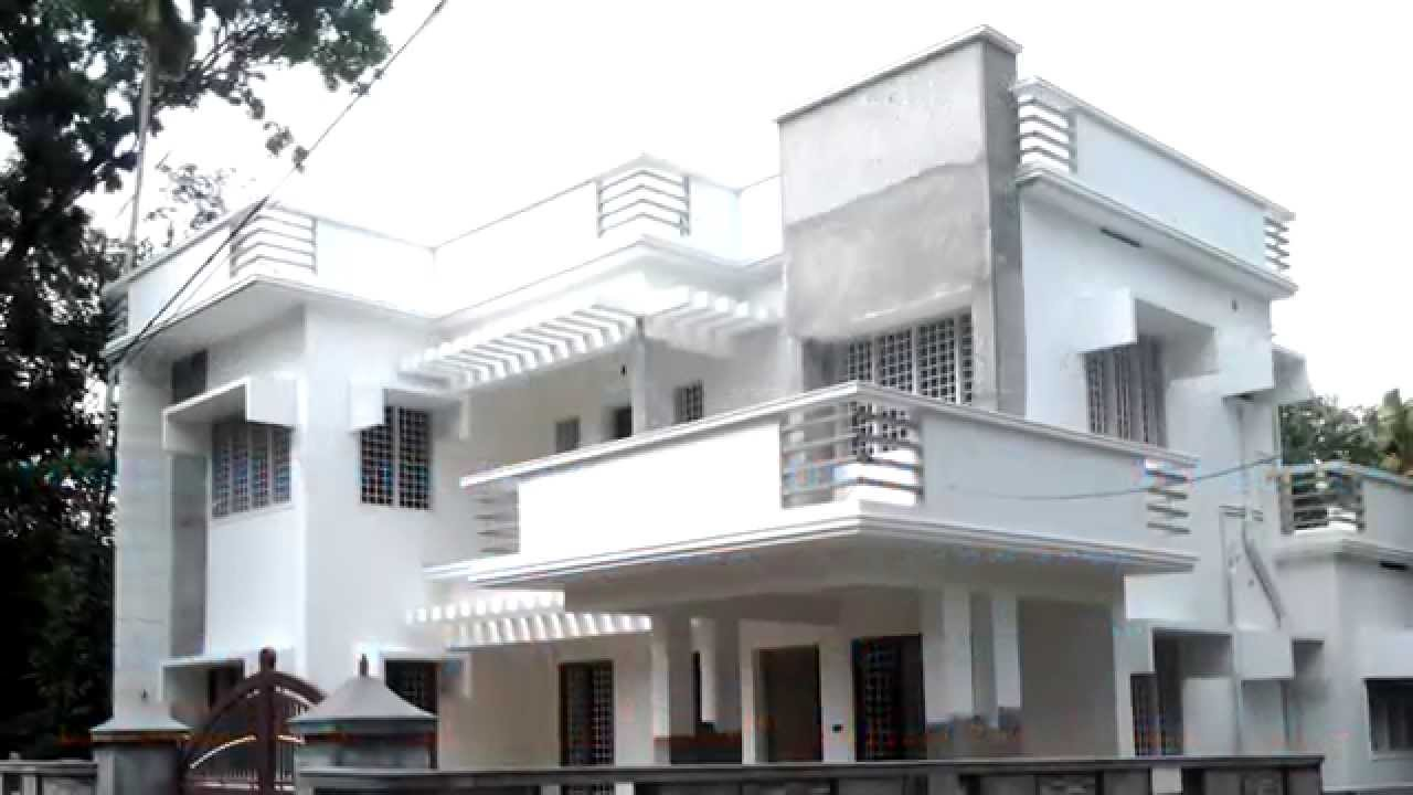 Luxury modern style 2400 sq ft house for sale in angamaly for Modern house plans 2400 sq ft
