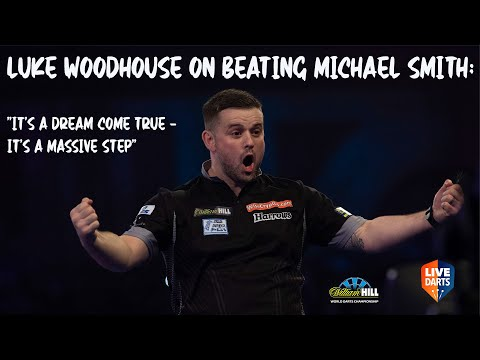 """Luke Woodhouse on beating Michael Smith: """"It's a dream come true – it's a massive step"""""""