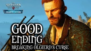 The Witcher 3: Wild Hunt - Hearts of Stone - Good Ending (breaking Olgierd