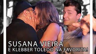 SUSANA VIEIRA E KLEBBER TOLEDO NA FAVORITA! | TORQUATTO TV