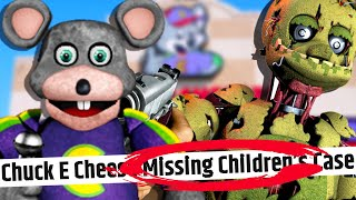 old TRAILERS PREDICTED FNAF becoming REAL... (The Chuck E. Cheese MISSING KIDS)