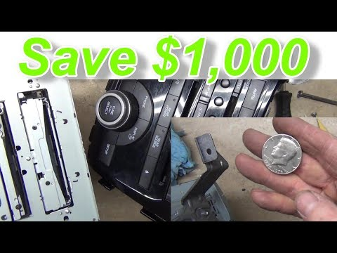 How to Remove Coins from CD DVD Player Honda Odyssey