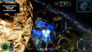 SWTOR GSS-3 Mangler Gunship Galactic Starfighter gameplay with two different loadouts