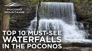 10 Must-See Waterfalls in the Poconos