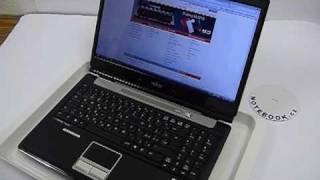 Test klávesnice Fujitsu LifeBook A1130