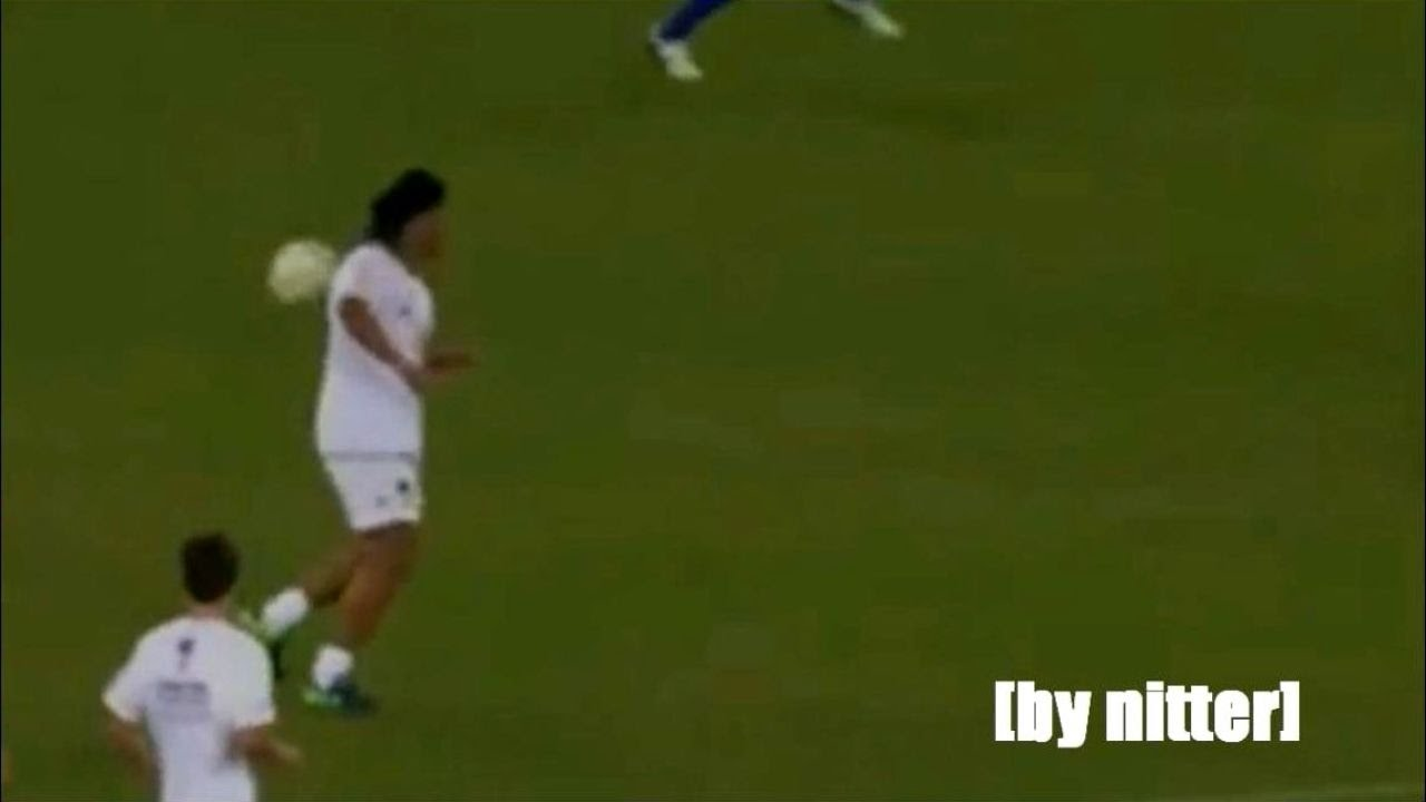 video calcio totti ronaldinho