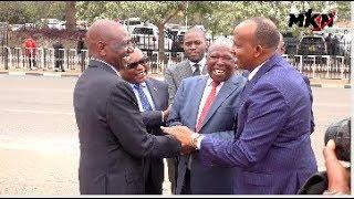 See what Ruto told Kamanda when they met  POLITICS HAS NO ENEMIES!