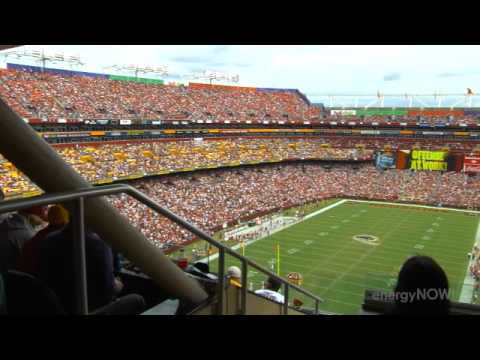 The NFL Scores with Clean Energy