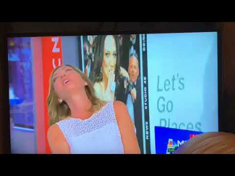 """Katy Tur Call Chris Jansing Of MSNBC """"Ron Burgundy,"""" But Who Is Ron Burgundy?"""