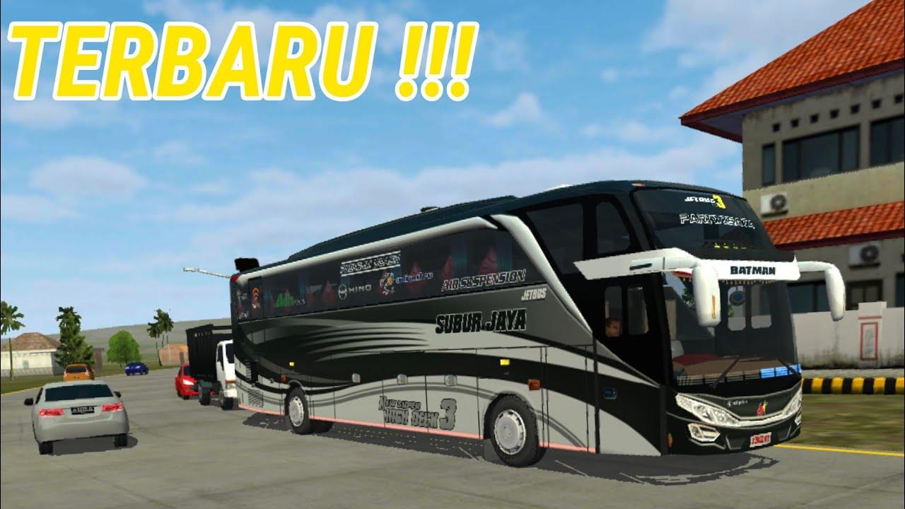 Subur Jaya Jetbus 3 Livery Batman Shd Bussid Livery Download