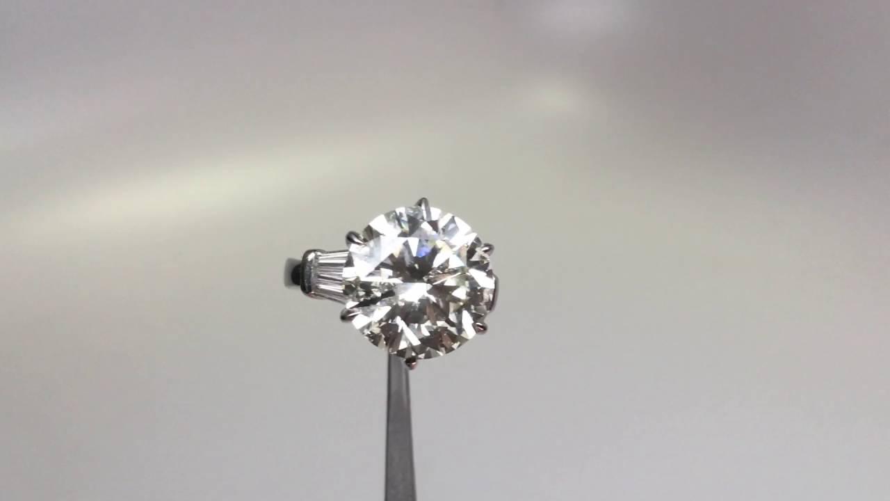 10 Carat Diamond Engagement Ring Available At Diamond Exchange Dallas
