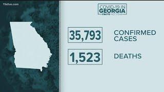 Coronavirus Georgia | Free testing, latest case numbers, reopening the economy, America Strong Flyov