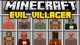 Minecraft EVIL VILLAGER MOD (Mod Showcase)