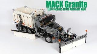 MACK Granite - LEGO Technic 42078 Alternate MOC