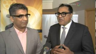 April 11, 2013 - Arjun Sablok & Jatinder Rai - TOIFA Opening Video - Omni Punjabi News