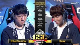 [2017 GSL Season 3]Code S Ro.4 Day2 Match1 INnoVation vs Dark
