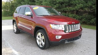 2013 Jeep Grand Cherokee Overland Summit 4X4|18075A