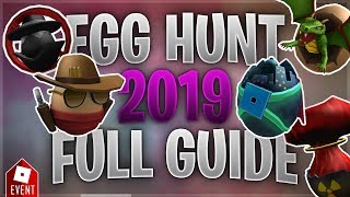 How to Get all the Eggs in the Egg Hunt [Part 5] (Roblox Egg Hunt 2019 Guide)