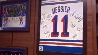 Steiner Sports New York Rangers Auction at Madison Square Garden