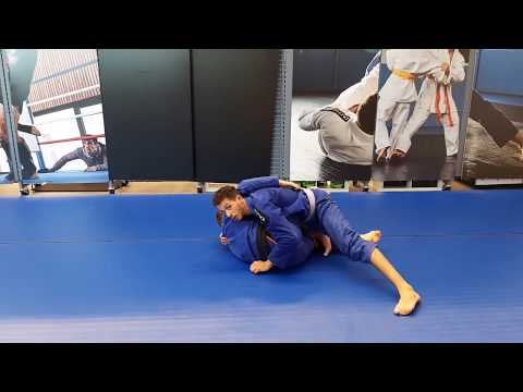Inverted DLR to X-guard to Legdrag || BJJ