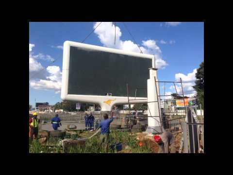 The making of Digital Outdoor in Lusaka, Zambia