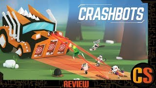 CRASHBOTS - PS4 REVIEW (Video Game Video Review)