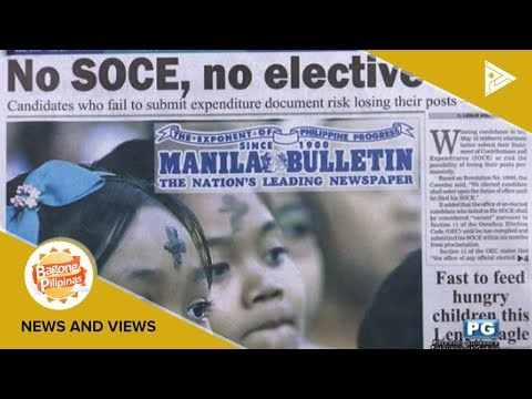 NEWS & VIEWS | No SOCE, no elective seat; 'No need for Diokno confirmation by CA'