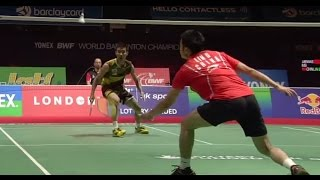 Final - MS - Lee C.W. vs Lin D. - Yonex BWF World Champs