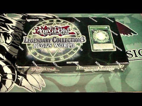 YUGIOH! Legendary Collection 3 Yugi´s World Box Opening