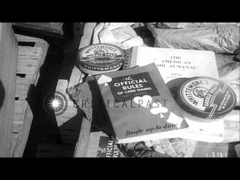 Army surplus goods including light and jeep on public auction in California, Unit...HD Stock Footage
