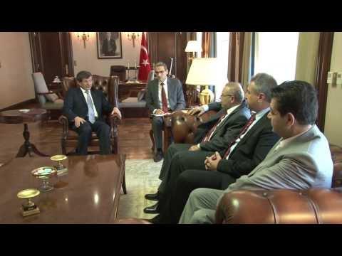 Sayın Bakanımızın Suriye Ulusal Kürt Konseyi Üyelerini Kabulü