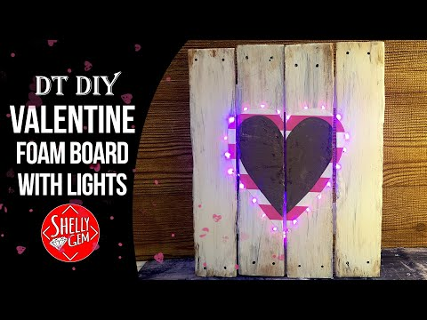 Valentine's Day Decor Idea 💜 #rustic #dt #diy #valentines #farmhousestyle