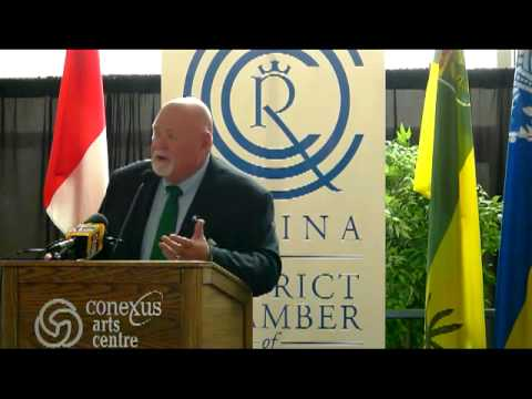 Saskatchewan Roughriders CEO and President Jim Hopson