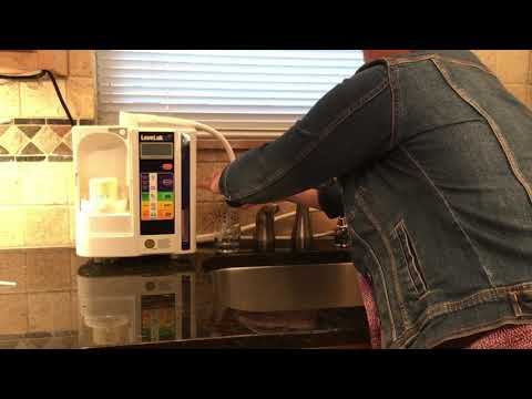 Cleaning your Kangen Water Machine installed with an Ion Faucet