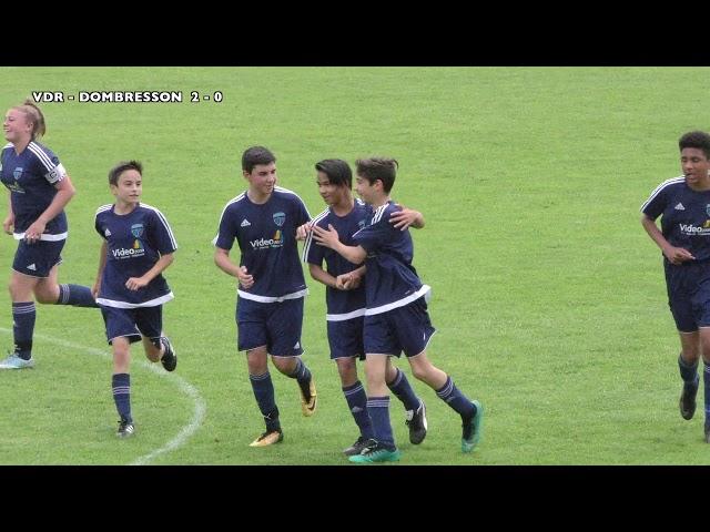 26.05.2018 Juniors C FC Val-de-Ruz - FC Dombresson 8 - 1 (4-0))