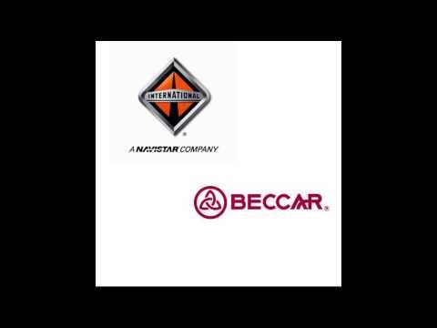 camión Beccar Urviabus, Motor Navistar International.