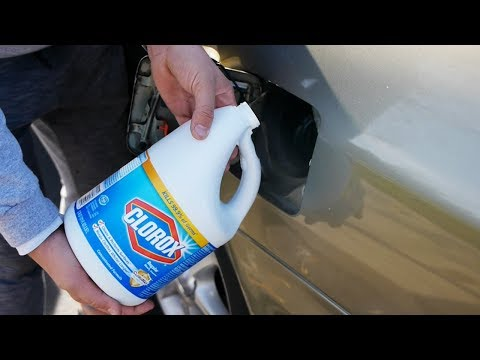 What Happens If You Fill Up a Car with Bleach?