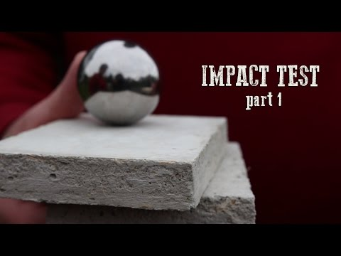 hemp adobe homes impact test part 1