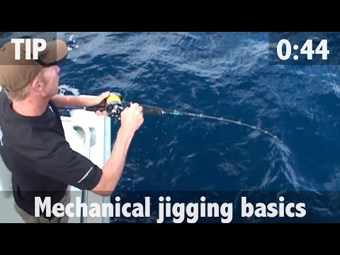 FISHING TIP 17 - Mechanical Jigging Basics