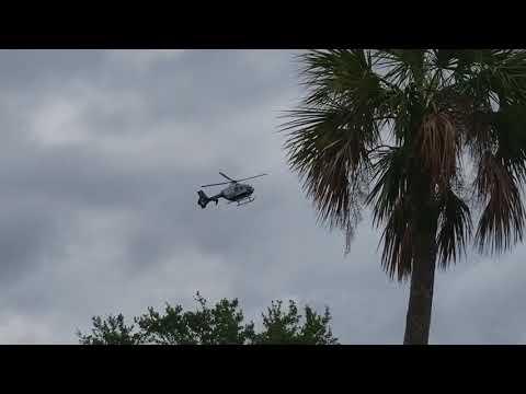 Bayflite N527BF Responding to a trauma alert in Palm Harbor FL 1080 60fps