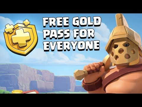 GET YOUR FREE GOLD PASS FAST.................... CLASH OF CLANS - COC