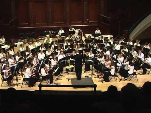 The Magnificent Seven, Bernstein, Hochstein Music School Wind Symphony, Fall 2010