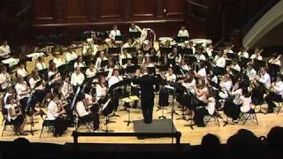 The Magnificent Seven, Bernstein, Hochstein Music School Wind Symphony, Fall 2010
