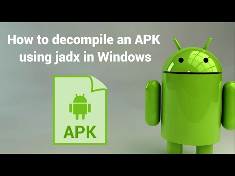 How to decompile an APK or DEX file using jadx in Windows | Our Code